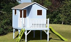 Cabane Enfant Occasion : cabane enfant en bois sur pilotis mod le sixtine soulet ~ Teatrodelosmanantiales.com Idées de Décoration