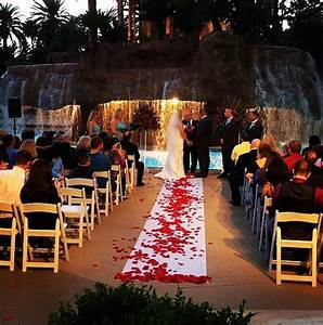 ultimate vegas wedding venue guide mirage pool With las vegas wedding on a budget