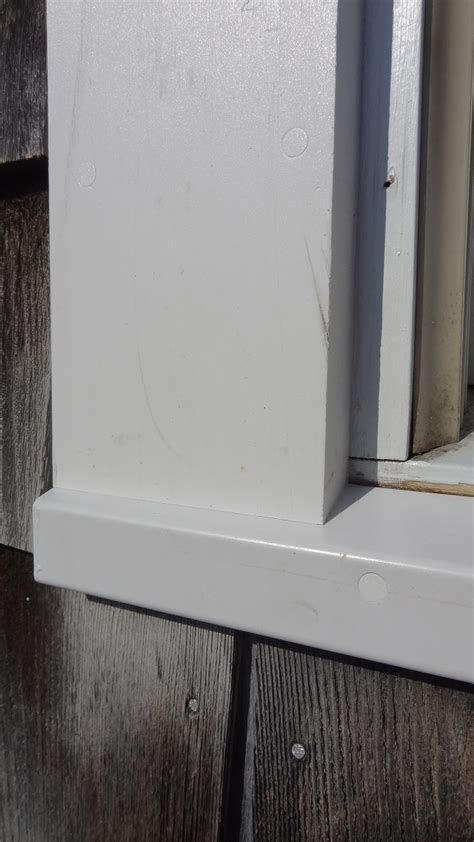 Replacement Window Sills Pvc by Pvc Window Trim Replacement Meticulous Remodeling