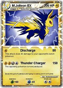 Pokémon M Jolteon EX 3 3 - Discharge - My Pokemon Card