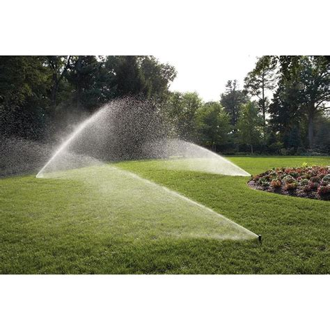 automatic sprinkler system lawn care watering rotary