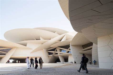 Nationalmuseum Katar In Doha by National Museum Of Qatar Architect Jean Nouvel Inexhibit