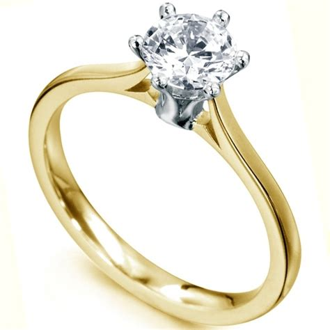 Tall Slender 6 Claw Diamond Solitaire Ring. Hipster Rings. High End Wedding Rings. 1 Mm Engagement Rings. Prince Rings. Tulip Rings. Stunning Gold Engagement Rings. Cheap Rings. Camellia Engagement Rings