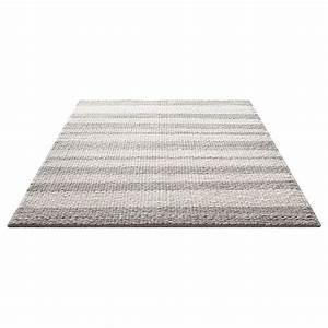 tapis moderne breeze gris taupe et blanc down to earth 160x230 With tapis gris taupe