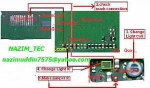 Nokia 1202 Light Ways Jumper Solution Display Lights