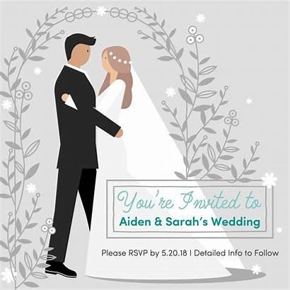 Invitation Animated Animation Card Behance Gifs Marriage