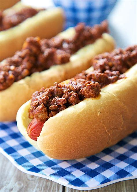chili dog recipes dishmaps