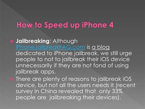 how to speed up my iphone how to speed up iphone 4