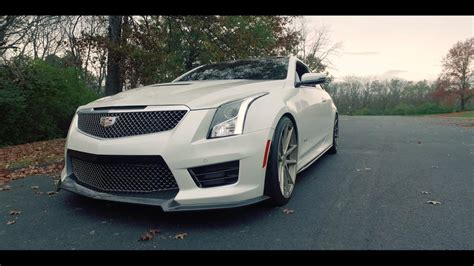 Lowered Cadillac Ats by Cadillac Ats V Exhaust System