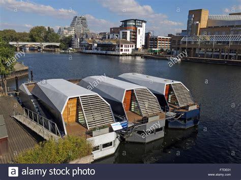 Houseboat Kingston by Kingston Upon Thames Stock Photos Kingston Upon Thames