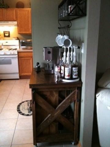 ana white coffee bar  kitchen island diy projects