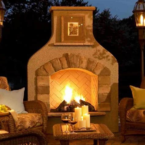 outdoor rooms with fireplaces sonoma gas fireplace