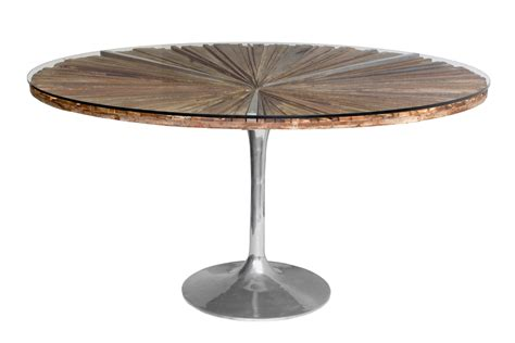 round wood dining room table pallet textured rustic round dining room table with metal