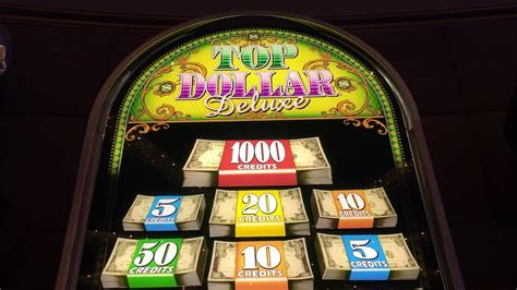 high limit top dollar  play slot machine pokie