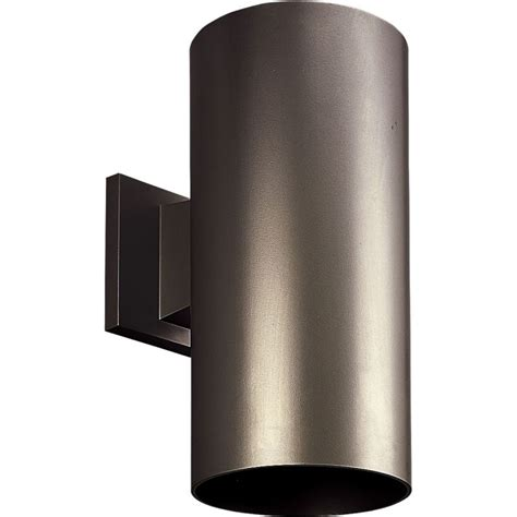 progress lighting p5641 20 antique bronze cylinder 1 light