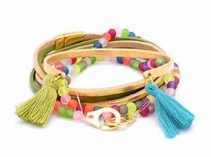 17 best images about tutoriels creation bijoux on With robe fourreau combiné avec bracelet pandora avec perle