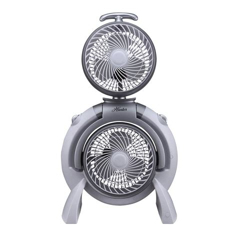 hunter 3 speed adjustable dual fan hunter adjustable 10 in 3 speed dual tower fan fsqq