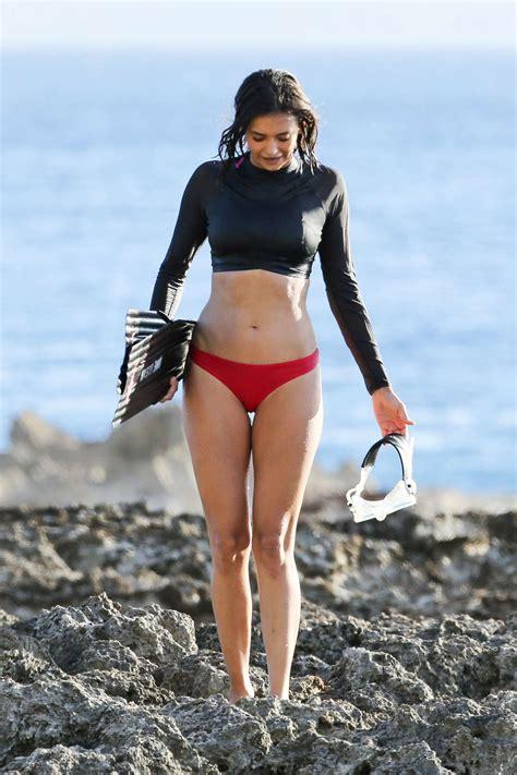 matilda anna ingrid lutz swimsuit nina dobrev in bikini at honolulu hot and sexy celebrities