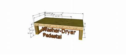 Pedestal Washer Dryer Diy Custom Ana Projects