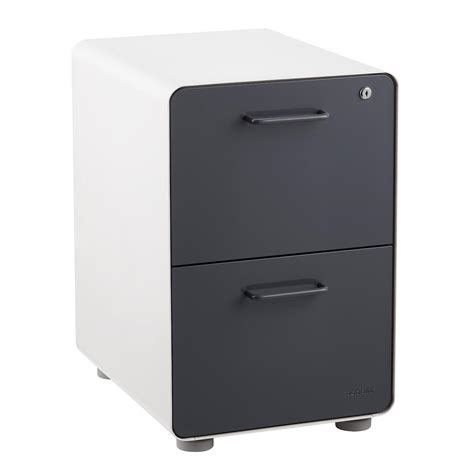 poppin file cabinet review poppin grey 2 drawer locking stow filing cabinet