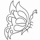 Butterfly Coloring Colorear Mariposas Pintar Dibujos Mariposa Tela Printable Moldes Kolorowanki Motyl Pintarcolorear Imprimir Disegni Colorare Farfalle Pobrania Borboletas Ricamo sketch template