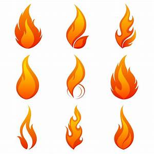 Best Free Vector Flame Icon Image