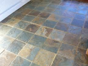 restoration of a slate floor worcester tile
