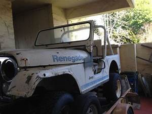 1980 Jeep Cj5 Renegade For Parts