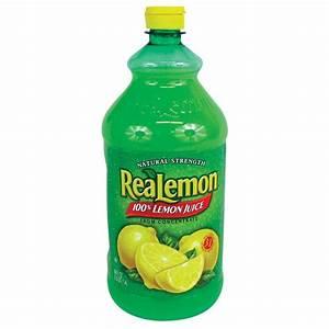 ReaLemon 100% Real Lemon Juice - 48 oz. Bottle