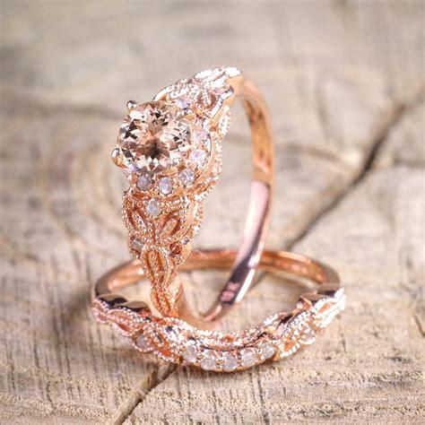 affordable bridal sets limited sale 1 50 carat cut morganite and