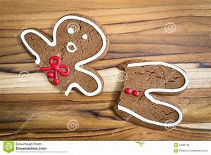 Broken Gingerbread Man Stock Photo - Image: 52982138