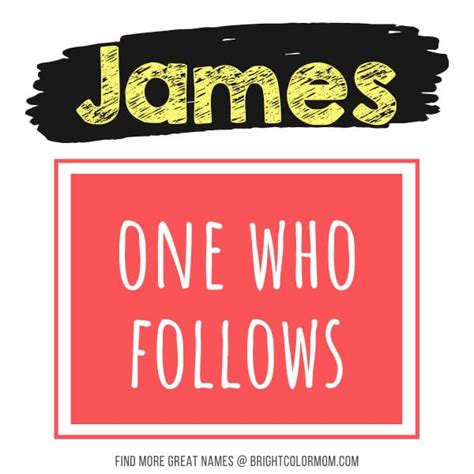james boy names