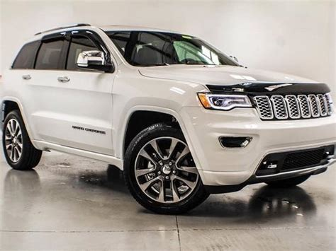 white jeep cherokee 2017 grand cherokee overland blue lithia springs mitula cars