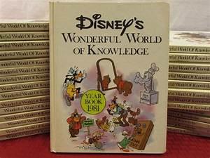 Lot Detail - VINTAGE DISNEY'S WONDERFUL WORLD OF KNOWLEDGE ...