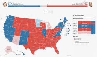 2016 Presidential Election Map Results