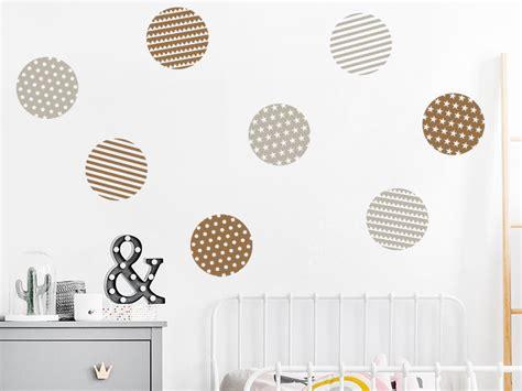 Wandtattoo Kinderzimmer Kreise by Wandtattoo Kunstvolle Kreise Set Mit 8 Kreisen