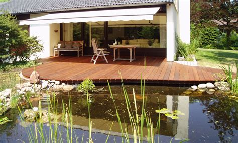 Gartenteich Mit Terrasse by Terrasse Mit Teich Offenbach Teichbauzentrum Anfahrt