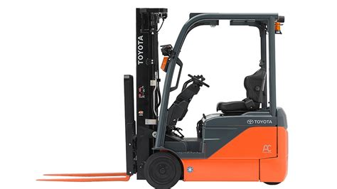 toyota  wheel electric forklift