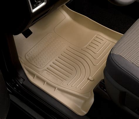 husky liners 99071 weatherbeater series black front second