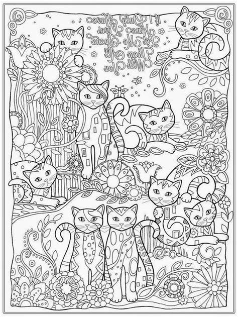 adult coloring cats 14088 bestofcoloring com more to