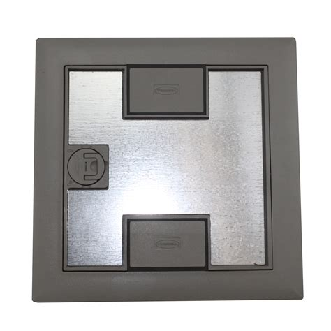 Hubbell Floor Box Covers And Accessories by Hubbell Lcfbcgya Recessed Concrete Floor Box Nm Carpet