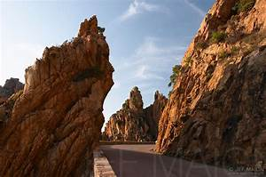 Image: Road among cliff and rocks