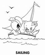 Coloring Sailing Animal Embroidery Dibujos Para Colorear Imágenes Patrones Patterns Bordar Dibujar Pinturas Bordado Bonitos Niños Pajaritos Infantiles Dibujo Flickr sketch template