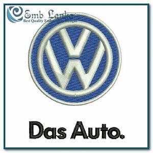 Volkswagen Das Auto : volkswagen das auto logo embroidery design ~ Nature-et-papiers.com Idées de Décoration