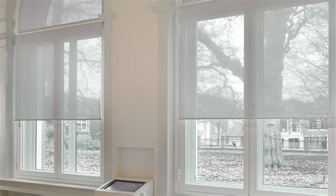 Sheer Roller Blinds For Arched Windows