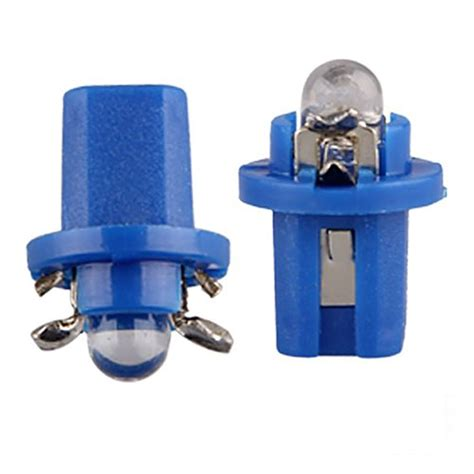 dash light bulbs 10 x t5 blue led car dash speedo dashboard light