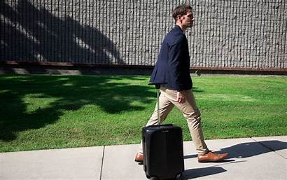 Ovis Luggage Suitcase Follow Self Driving Around