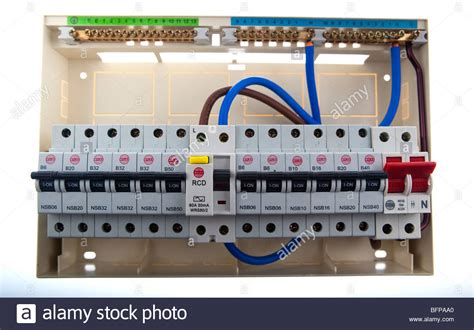 wiring up a split load consumer unit collection of