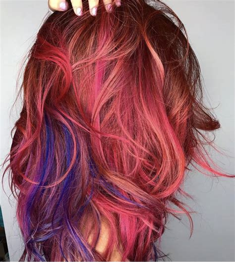 Hair Dye Colours For Hair by Funky Mermaid And Unicorn Hair Color Professional Colorists
