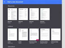 Google Doc Template calendar doc